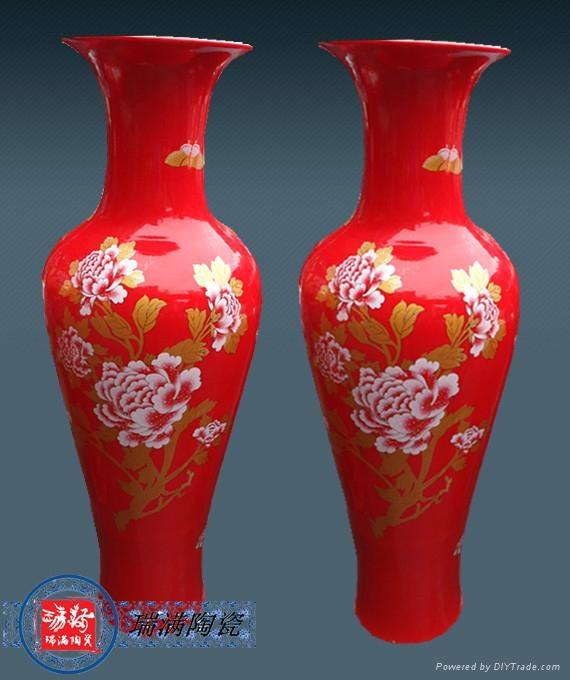 賓館酒店裝飾品大花瓶 4