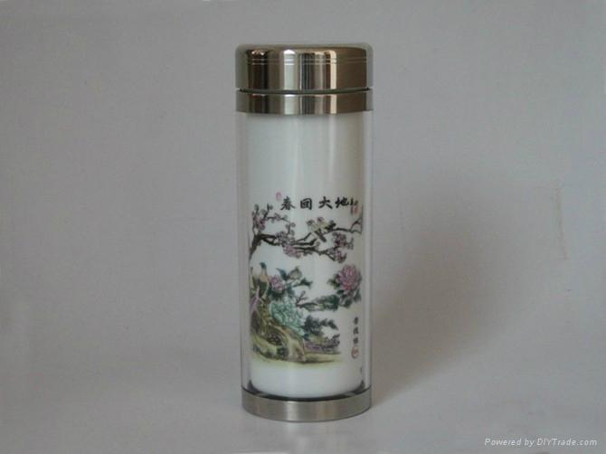 單位禮品陶瓷茶杯 5