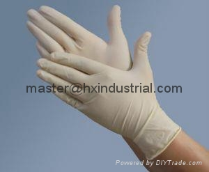 latex surgical gloves  1