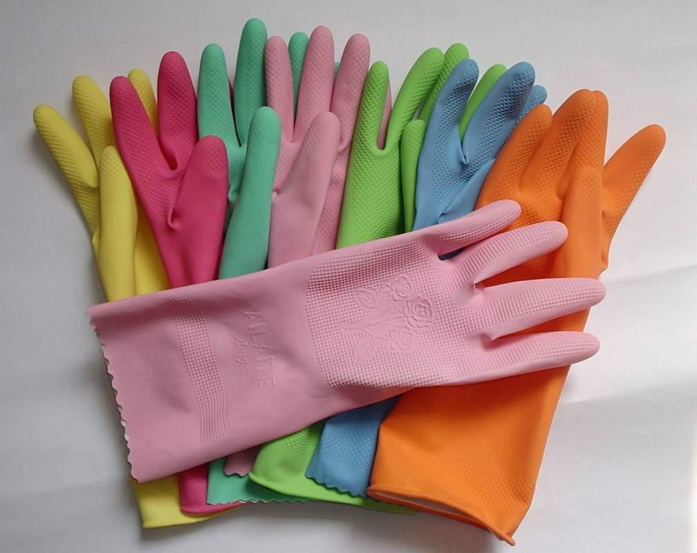 latex rubber household gloves for sale 3