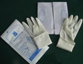 disposable latex exam gloves powder free 1