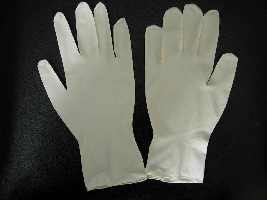 disposable latex exam gloves powder free 3