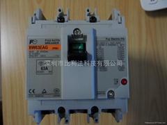 日本原装FUJI富士塑壳断路器BW32AAG-3P032
