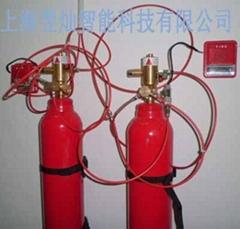 上海火探管式自動滅火裝置TFD滅火設備E6