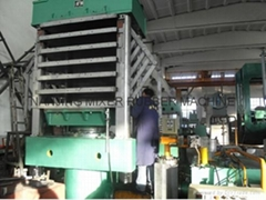 Rubber Tile Vulcanzing Press