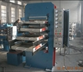 Rubber Tile Vulcanzing Press 2
