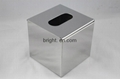 Stainless Steel Square Tissue Box Top