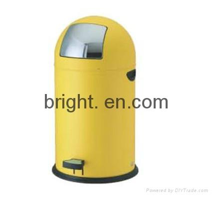 Stainless Steel Push Bin 1
