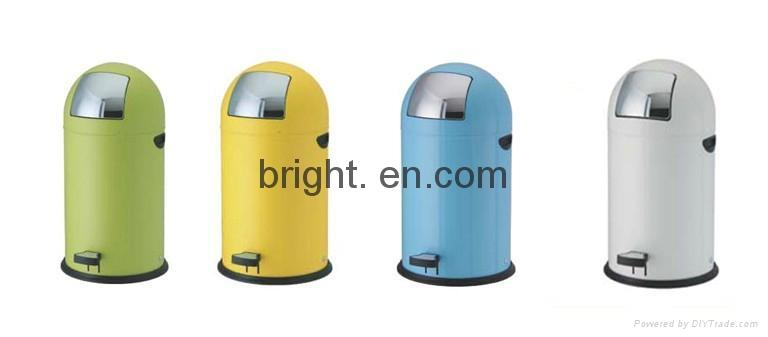 Stainless Steel Push Bin 2