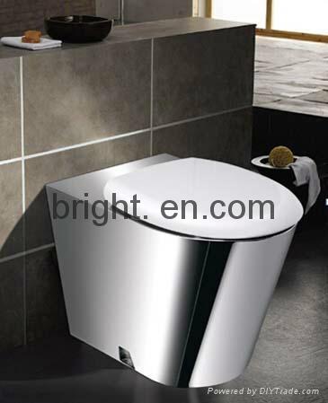 Stainless steel Toilet 1