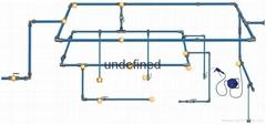 铝合金压缩空气管路系统