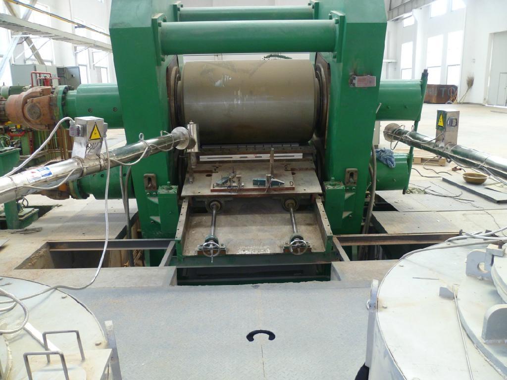 Magnesium alloy continuous casting machine 1