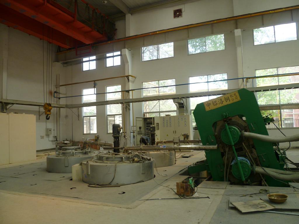 Magnesium alloy continuous casting machine 4