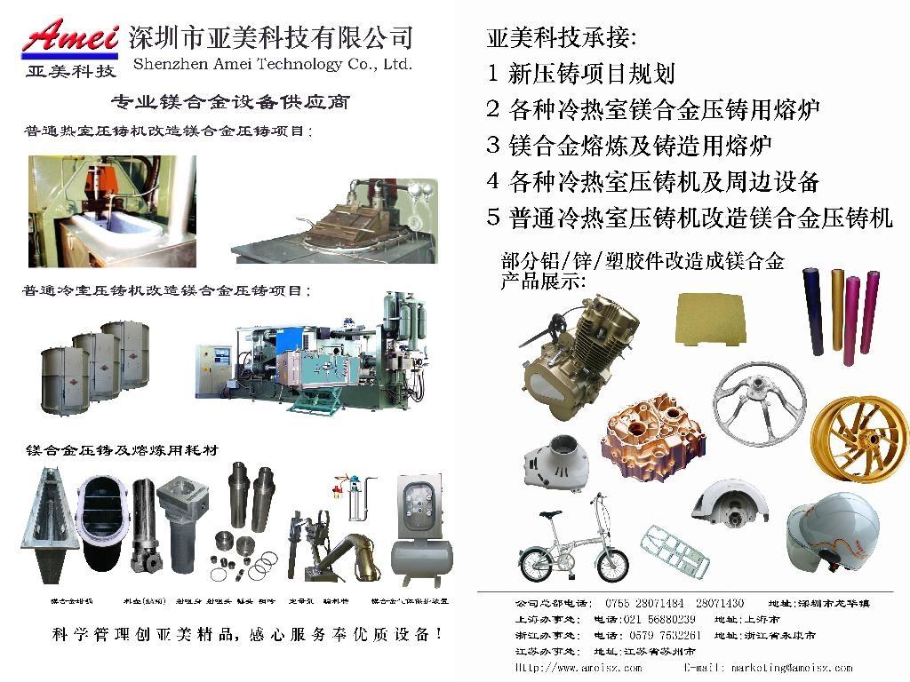 Casting machine accessories 4
