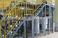 Magnesium alloy rod semi-continuous