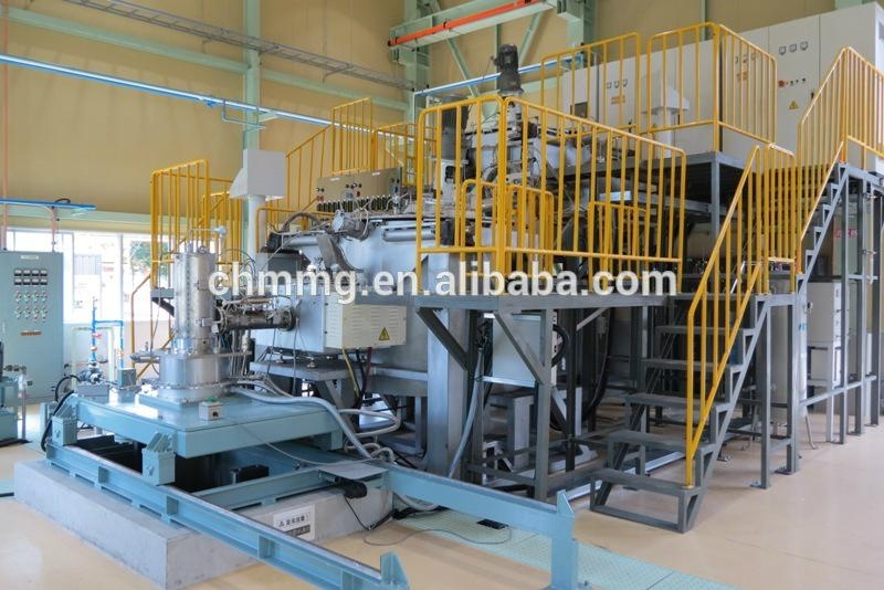 Magnesium alloy rod semi-continuous casting systems 4