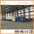 Steel belt reduction  furnace