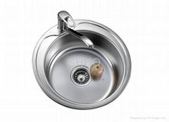 stainless steel single sinks