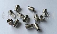 不鏽鋼柱端機米螺絲M8*12