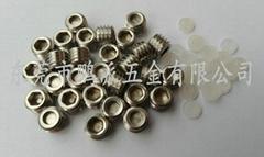 不锈钢紧定螺丝,胶头机米,M8*6