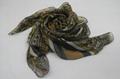 巴里紗油畫色彩系時尚熱賣圍巾