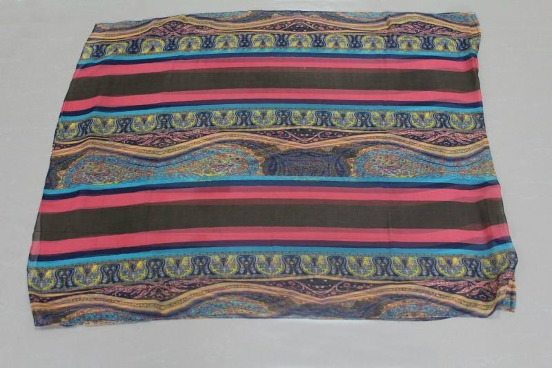 巴里紗油畫色彩系時尚熱賣圍巾 4