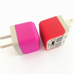 Folding plug USB Wall Charger USA 1A for iPhone and mobile phones