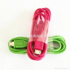 micro 1m USB Date Cable for samsung mobile phone