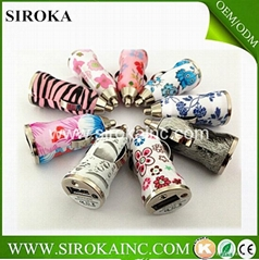 New arrival  flower printed usb car charger for iphone samsung ipad ipod