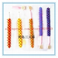 silicone rubber spike rainbow ball point pen 2
