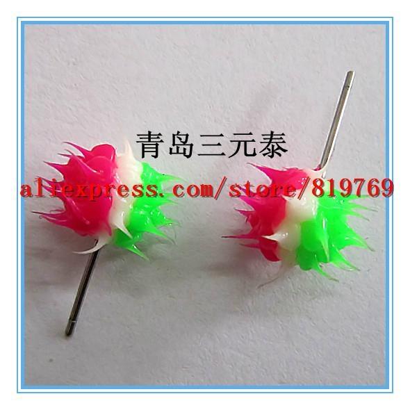 silicone spike rainbow earrings hot sale earrings 2