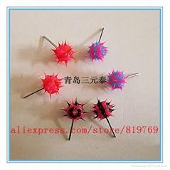 fashion silicone spike koosh ball