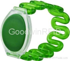 RFID Plastic wristband 2