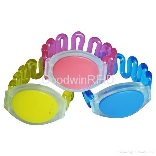 RFID Plastic wristband 3
