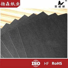 787mm*1092mm black paper roll in china factory