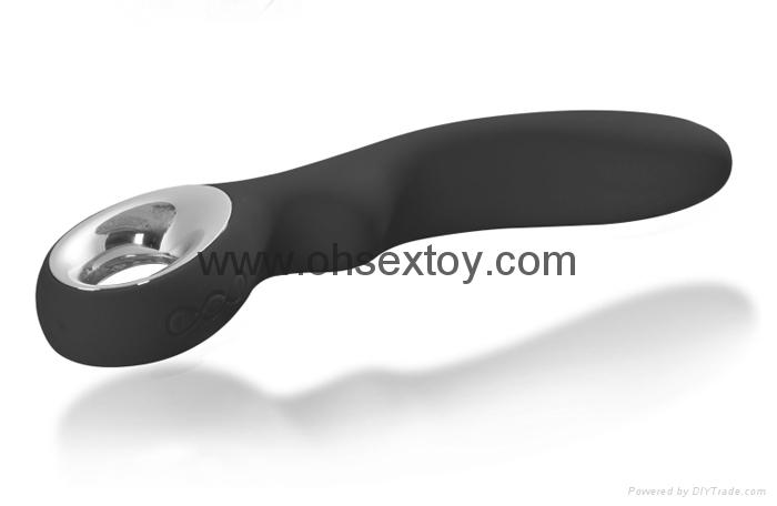 Hot selling full silicone G-spot vibrator sex toys for women masturbation 2