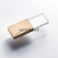 2015 newest Natural Wooden USB flash