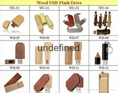 2015 newest Natural Wooden USB flash drive