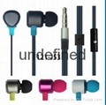 3.5mm handsfree earphones with mic