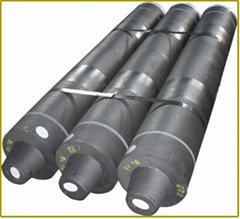 Impregnated graphite electrodes