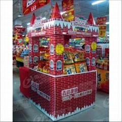 佛山超市堆頭及包柱製作