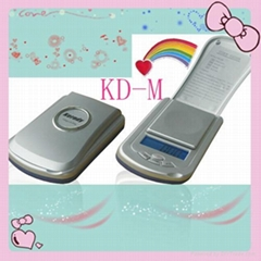 Digital pocket scale with LCD display(KD-M)