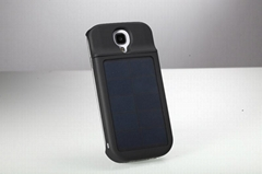 China factory 3000mAh portable solar charger for mobile phone