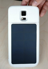 China factory 4000mAh solar case battery for samsung galaxy S5