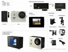 Christmas gifts sports camera action camera the most  versatile camera ever
