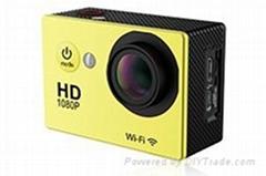 GoPro like waterproof action camera huge market
