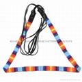 handmade beaded elastic belt