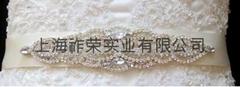 婚纱腰带 新娘水钻腰封