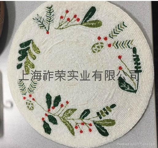 手工串珠餐墊 1