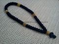 廠家直銷禱告繩結 打結編織手鏈 蠟繩編織祈禱繩  3